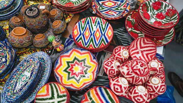 Тюбетейка, выставка-ярмарка товаров, произведенных в Средней Азии  - Sputnik Таджикистан