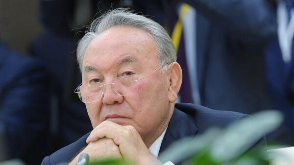 Президент Республики Казахстан Нурсултан Назарбаев, архивное фото - Sputnik Таджикистан