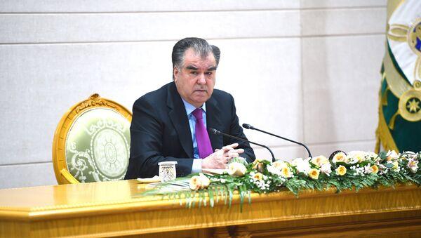Президент РТ Эмомали Рахмон, архивное фото - Sputnik Тоҷикистон