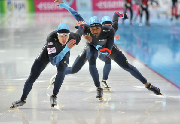 Конькобежный спорт, архивное фото - Sputnik Таджикистан