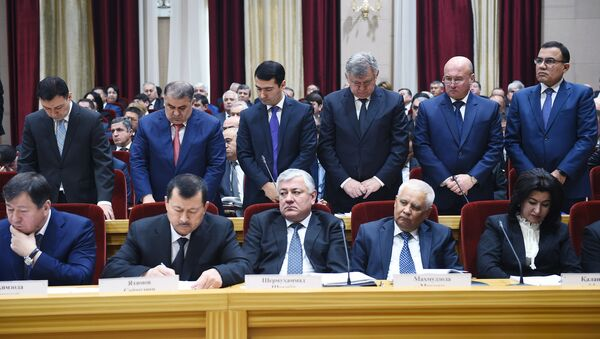 Расширенное заседание правительства РТ - Sputnik Таджикистан