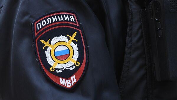 Нашивка на рукаве сотрудника полиции, архивное фото - Sputnik Таджикистан