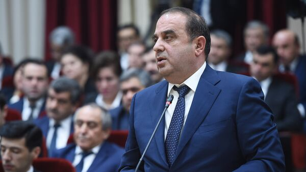 Нурмахмадзода Джамшед Председатель Национального банка Таджикистана, архивное фото - Sputnik Тоҷикистон