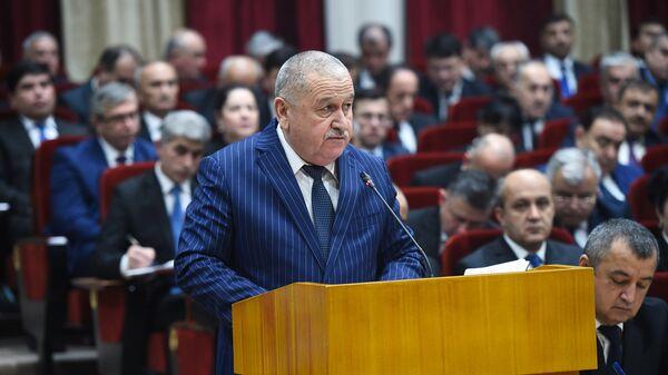 Бывший министр Финансов Таджикистана Курбониён Абдусалом, архивное фото - Sputnik Таджикистан