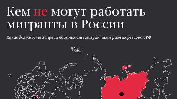 Кем не могут работать мигранты в России - Sputnik Таджикистан
