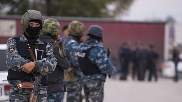 Правоохранительные органы Кыргызстана, архивное фото - Sputnik Таджикистан