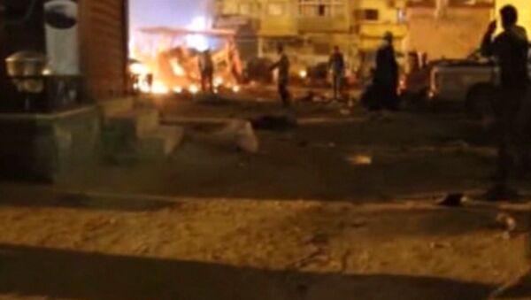 Двойной теракт произошел у крупнейшей мечети в Бенгази в Ливии - Sputnik Таджикистан