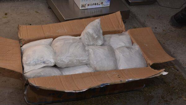Уничтожение незаконных наркотических веществ, архивное фото - Sputnik Таджикистан