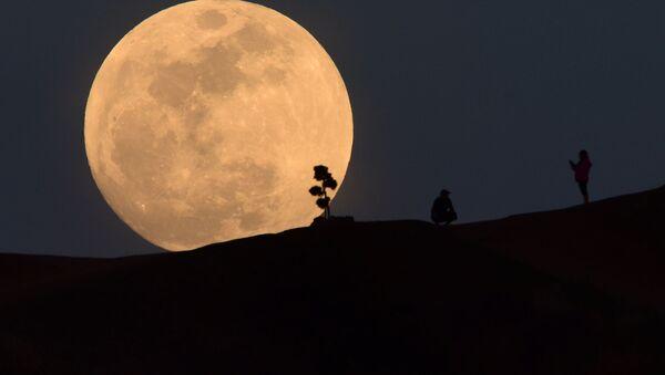 Луна, архивное фото - Sputnik Таджикистан