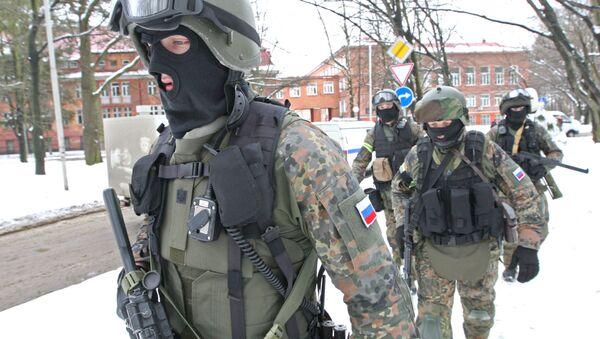 Спецназ ФСБ, архивное фото - Sputnik Таджикистан