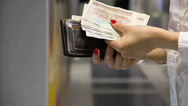Кошелек с деньгами - Sputnik Таджикистан