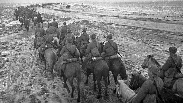 Кавалеристы, архивное фото - Sputnik Таджикистан