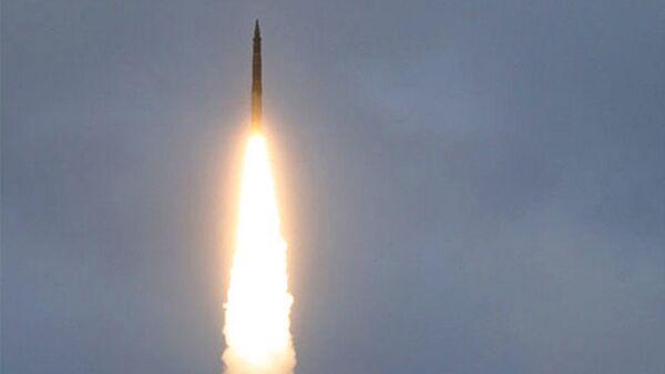 Испытательный пуск межконтинентальной баллистической ракеты. Архивное фото - Sputnik Таджикистан