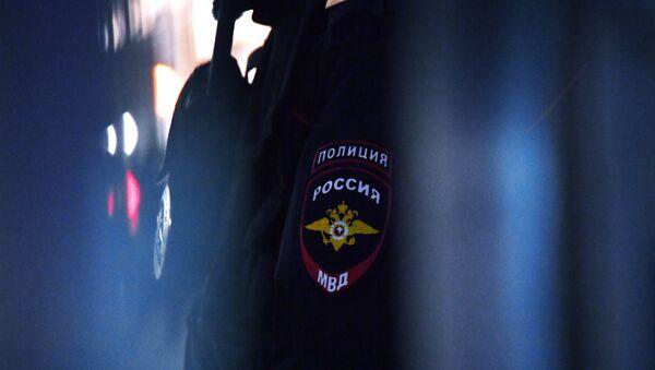Нашивка на рукаве сотрудника полиции в России, архивное фото - Sputnik Таджикистан