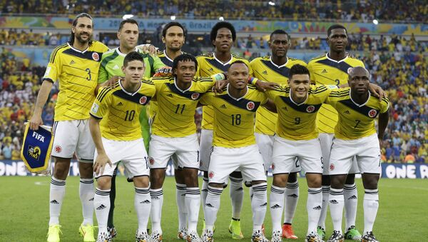 Колумбийская национальная сборная по футболу - Sputnik Таджикистан