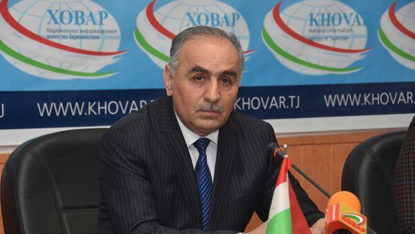Министр культуры Таджикистан Орумбекзода Шамсиддин, архивное фото - Sputnik Тоҷикистон