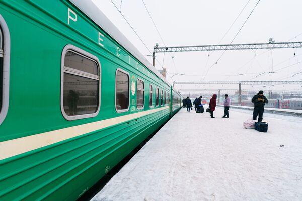 Поезд Москва-Душанбе - Sputnik Таджикистан