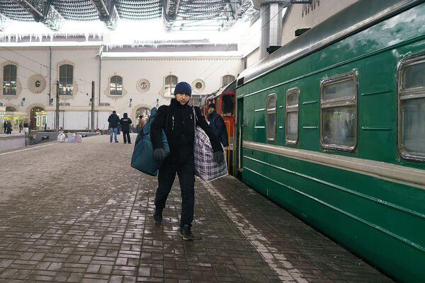 Пассажир поезда Москва-Душанбе - Sputnik Таджикистан