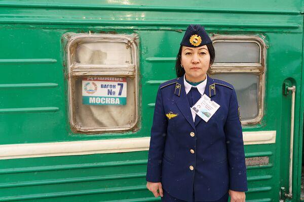 Проводник поезда Москва-Душанбе - Sputnik Таджикистан