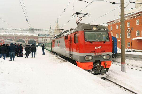 Поезд Москва — Душанбе - Sputnik Таджикистан