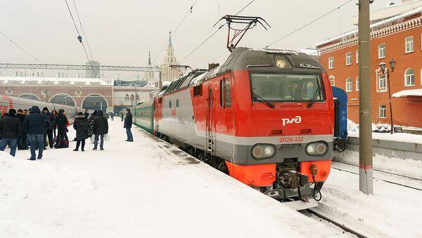 Поезд из Москвы в Душанбе - Sputnik Таджикистан