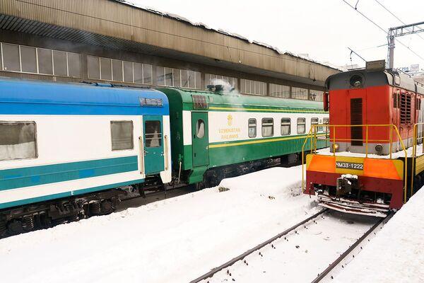 Поезд Узбекистана, архивное фото - Sputnik Таджикистан