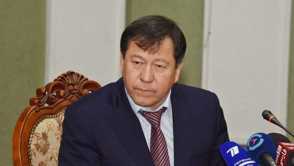 Министр МВД РТ Рамазон Рахимзода, архивное фото - Sputnik Тоҷикистон