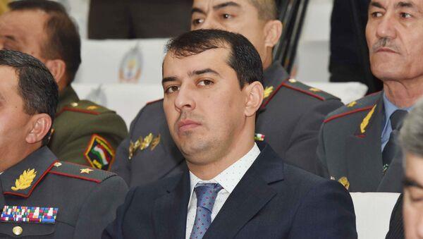Шохрух Саидов начальник уголовного розыска, архивное фото - Sputnik Тоҷикистон