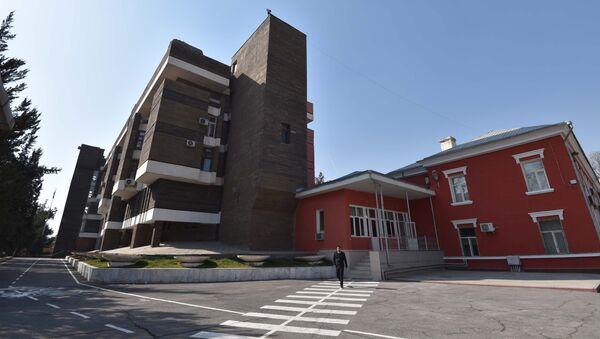 Здание МВД в Душанбе, архивное фото - Sputnik Тоҷикистон