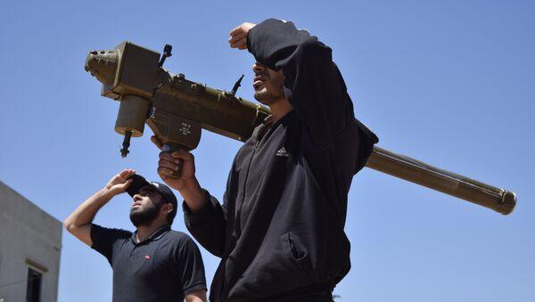 Сирийские боевики, архивное фото - Sputnik Таджикистан
