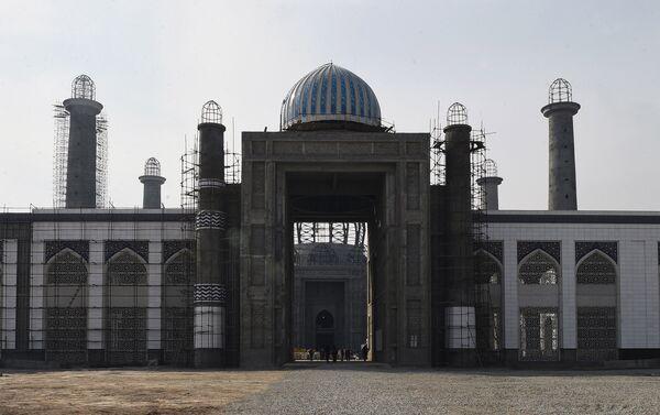 Центральная душанбинская соборная мечеть - Sputnik Таджикистан