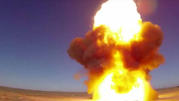 Пуск модернизированной противоракеты системы ПРО - Sputnik Таджикистан