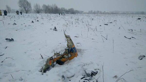 Место крушения самолета Ан-148 в Московской области - Sputnik Таджикистан