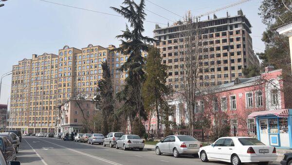 Новостройки в городе Душанбе, архиное фото - Sputnik Тоҷикистон
