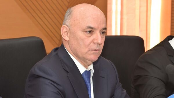 Глава налогового комитета Таджикистан Давлатзода Нусратулло, архивное фото - Sputnik Тоҷикистон