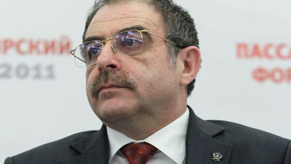 Заместитель руководителя Федеральной службы по надзору в сфере транспорта Владимир Черток, архивное фото - Sputnik Таджикистан