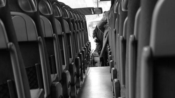 В салоне автобуса, архивное фото - Sputnik Таджикистан