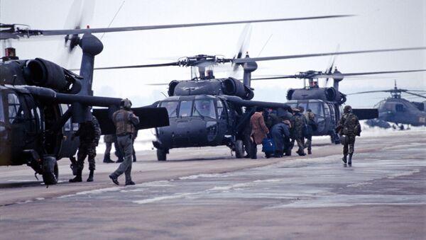 Американская военная база в Тузле. - Sputnik Таджикистан