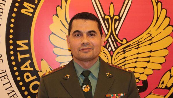 Ахрор Хасанов, полковник артиллерии ВС РТ - Sputnik Таджикистан