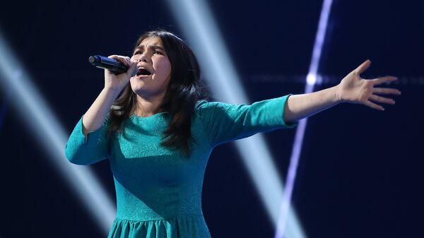 Участница вокального конкурса Ты супер! из Таджикистана Мехрона Гайбуллоева - Sputnik Таджикистан