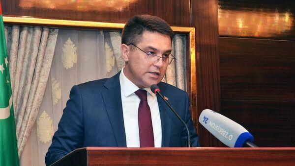 Чрезвычайный и полномочный посол Туркменистана в Узбекистане Шири Шириев - Sputnik Таджикистан