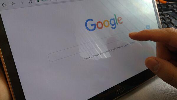 Google поиск, архивное фото - Sputnik Тоҷикистон