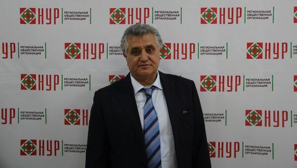 Председатель РОО НУР Алимамад Баймамадов, архивное фото - Sputnik Таджикистан