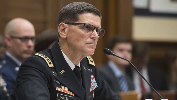 Генерал Джозеф Вотел, глава Центрального командования Вооруженных сил США, архивное фото - Sputnik Таджикистан