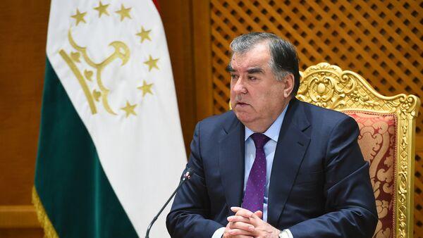 Президент Таджикистана Эмомали Рахмон, архивное фото - Sputnik Таджикистан