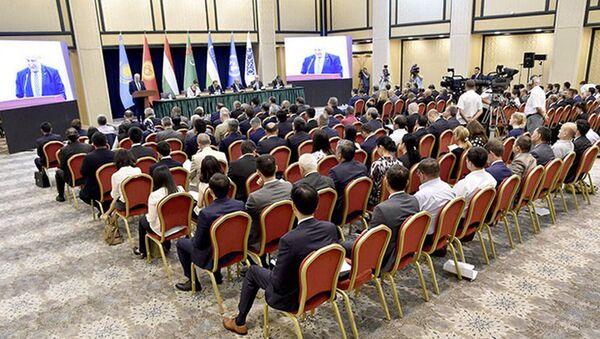 Международная конференция Центральная Азия – главный приоритет внешней политики Узбекистана - Sputnik Тоҷикистон