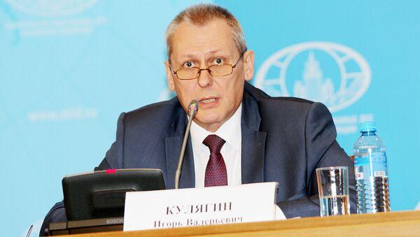 Первый заместитель руководителя аппарата Национального антитеррористического комитета (НАК) Игорь Кулягин - Sputnik Таджикистан