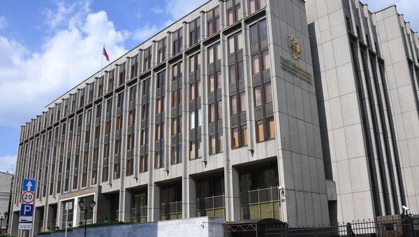 Здание Совета Федерации Федерального Собрания Российской Федерации - Sputnik Тоҷикистон