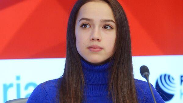 Олимпийская чемпионка, серебряный призер XXIII зимних Олимпийских игр в Пхёнчхане Алина Загитова - Sputnik Таджикистан