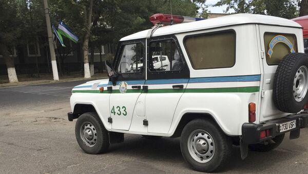 Автомобиль Узбекской милиции, архивное фото - Sputnik Таджикистан